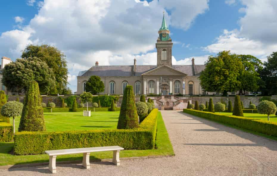 Park in The Irish Museum of Modern Art,Dublin.