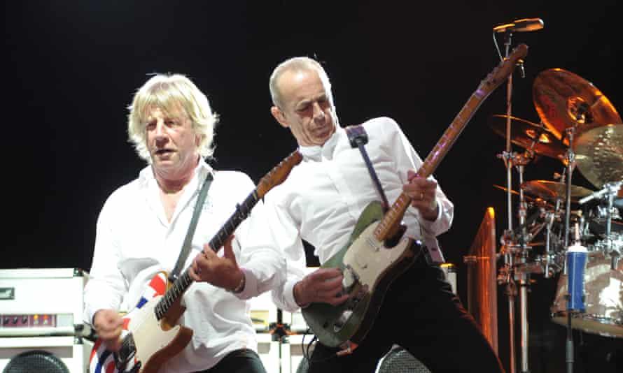 Rick Parfitt (left) and Francis Rossi of Status Quo.