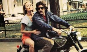 Cornelia Sharpe and Al Pacino in Sidney Lumet's 1973 biopic Serpico.