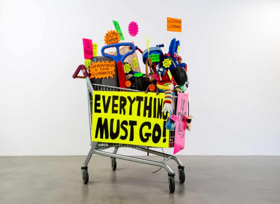 Michael Landy's Closing Down Sale has a place in Grayson Perry's Room of Fun.