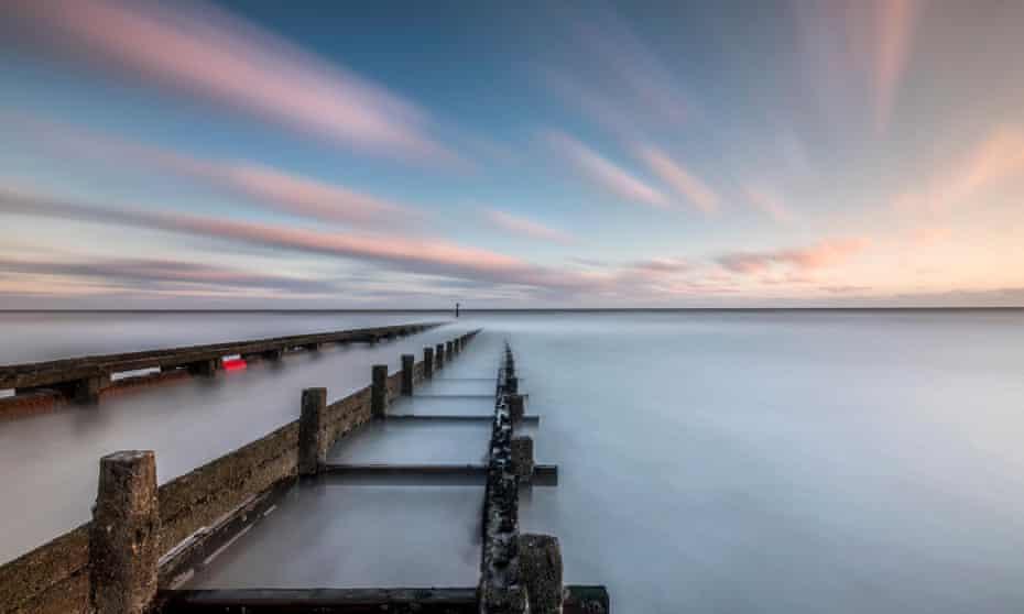 a pipeline into the North Sea