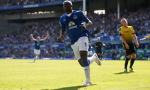 Everton's Arouna Koné secures a point for the Toffees after his equaliser.