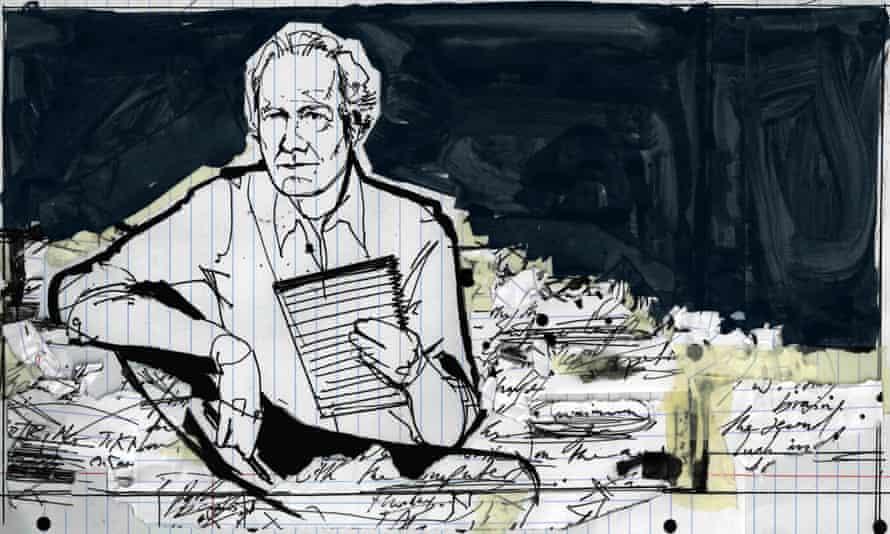 William Boyd illustration by Alan Vest