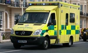 A South East Coast ambulance.
