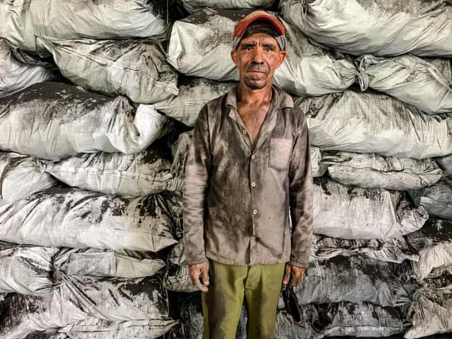 Coal burner Eddy Peregrino, 52