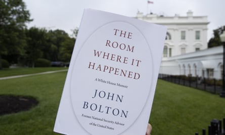 The Room Where It Happened, by former national security adviser John Bolton.