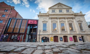 The revamped Bristol Old Vic theatre