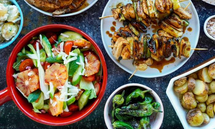Cider fish parcels to Teriyaki mushroom skewers: three of the best apple-infused barbecue recipes