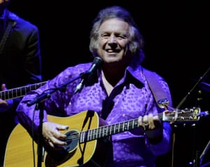 Don McLean in Gateshead, on an earlier tour stop.