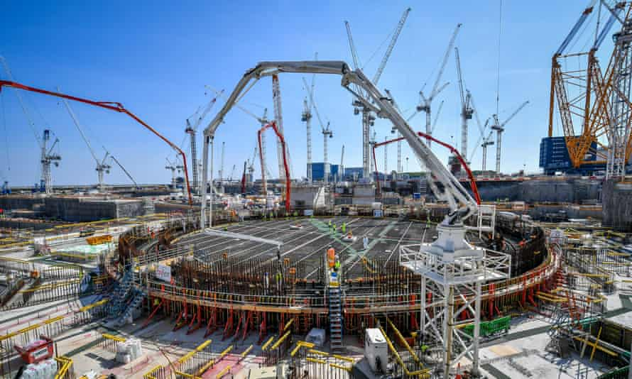 One new plant is being built, at Hinkley Point in Somerset, and it is years behind schedule and billions over budget.