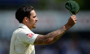 Mitchell Johnson has called time on his international career with 73 Test matches under his belt.