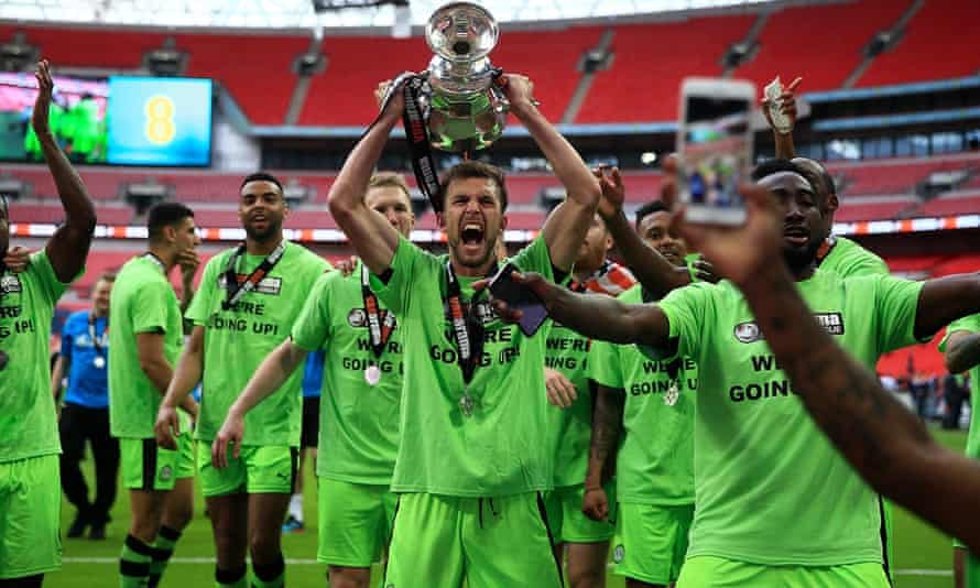 The vegan football team have just been promoted to the Football League for the first time.