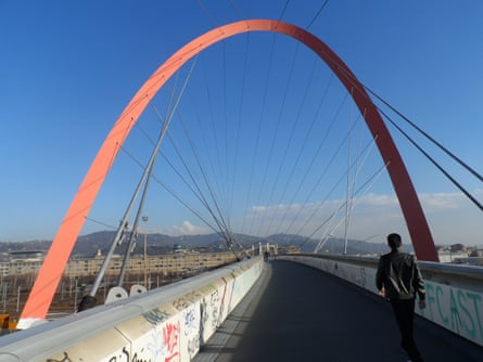 The Olympic arch in Turin.
