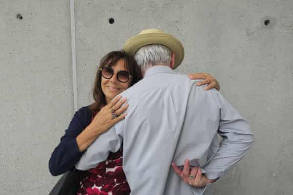 Sophie Calle and Paddy McKillen.
