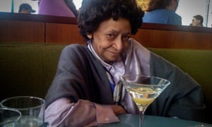 Marion Stokes enjoying a martini in 2009.