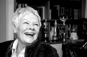 Judi Dench photographed by Kasey Newton