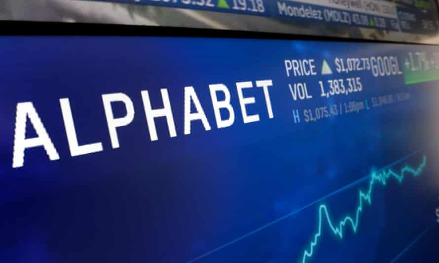 Google parent company Alphabet.