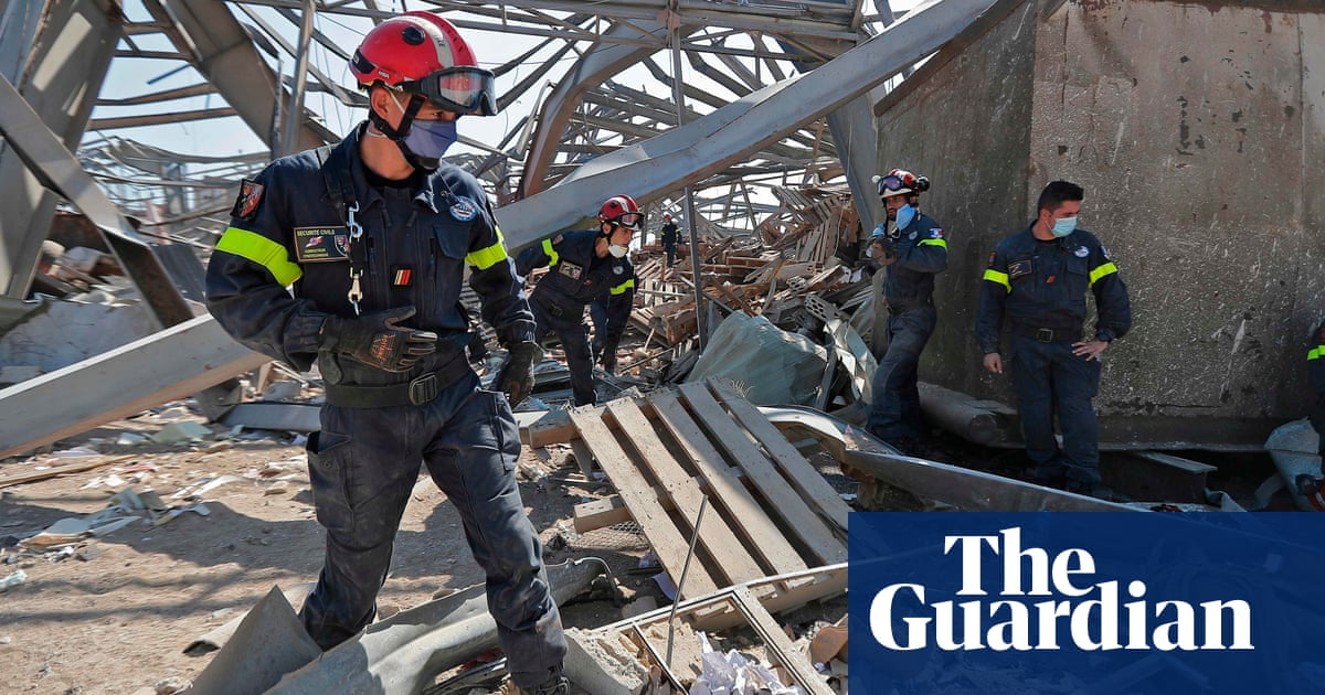 Beirut recovery effort gathers pace amid growing anger at Lebanon's leaders – The Guardian