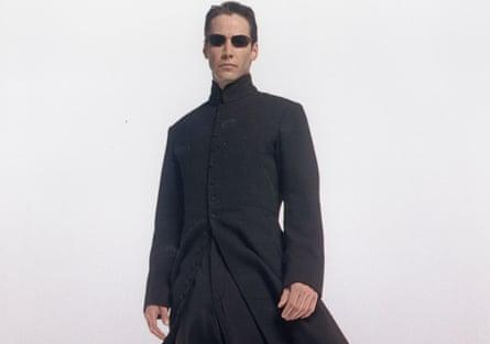 Keanu Reeves in The Matrix movie