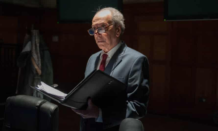Raad Rawi plays both Sir John Chilcot and Tony Blair in the verbatim play.