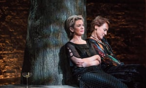 'Magnetic': Victoria Hamilton with the 'subtly cool' Helen Schlesinger in Mike Bartlett's Albion.