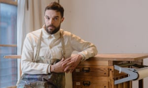 'I get ideas sitting in the bath' … Oliver Jeffers, whose new work is What We'll Build.