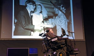 Stephen Hawking at the Starmus festival, Tenerife.