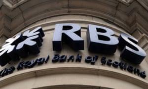 Royal Bank of Scotland branch in London