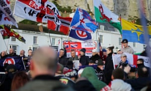 Far-right protesters clashed with anti-fascists in Dover last week.