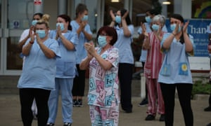 Applause for the NHS - but staff deserve a pay rise too.