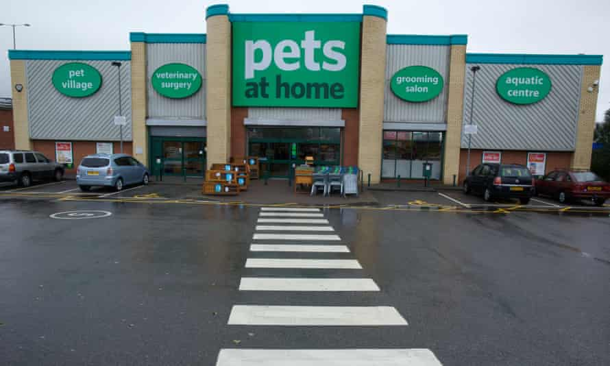 Pets at Home superstore in Stockport, Greater Manchester
