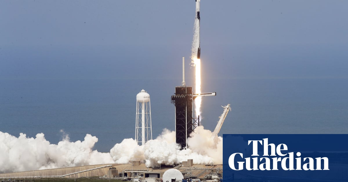 SpaceX successfully launches Nasa astronauts into orbit