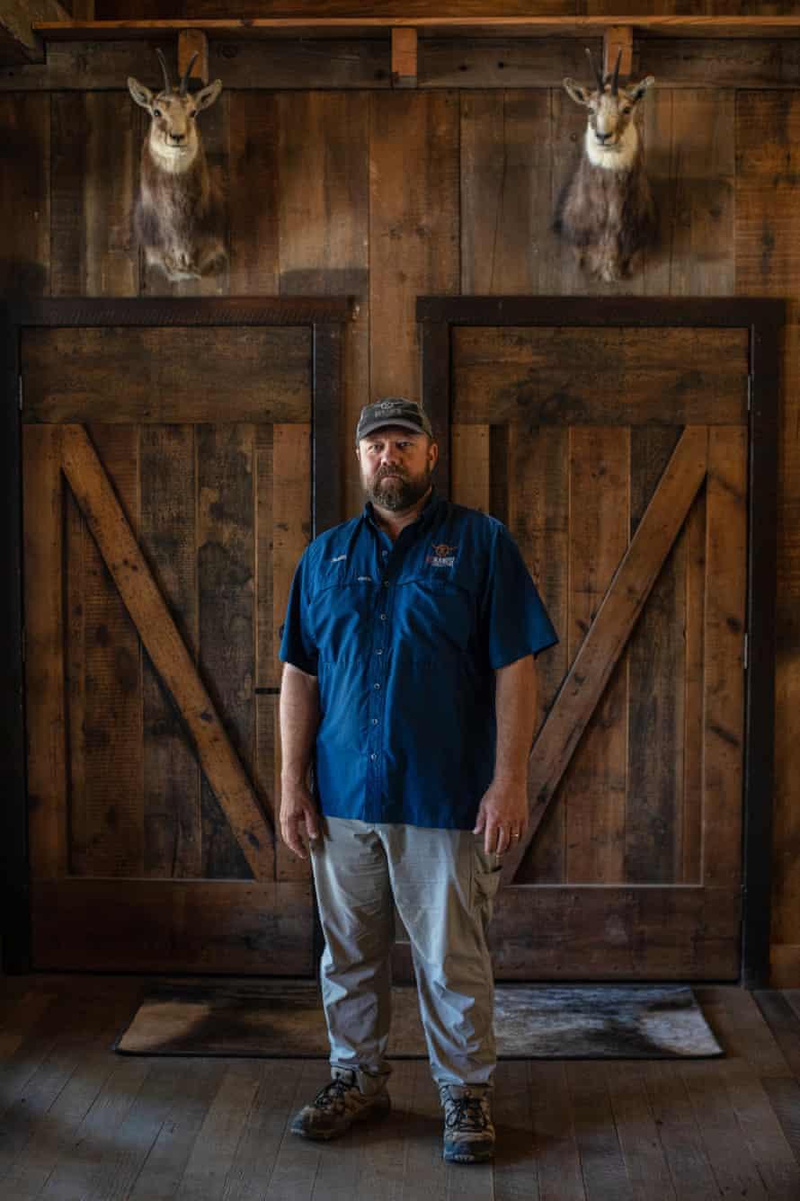 Ox Ranch CEO Jason Molitor.