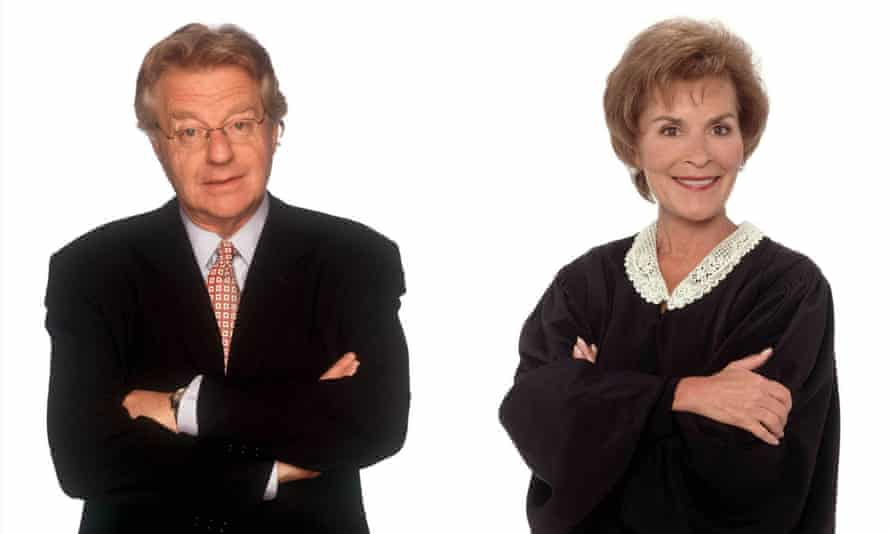 A composite of Jerry Springer and Judge Judy