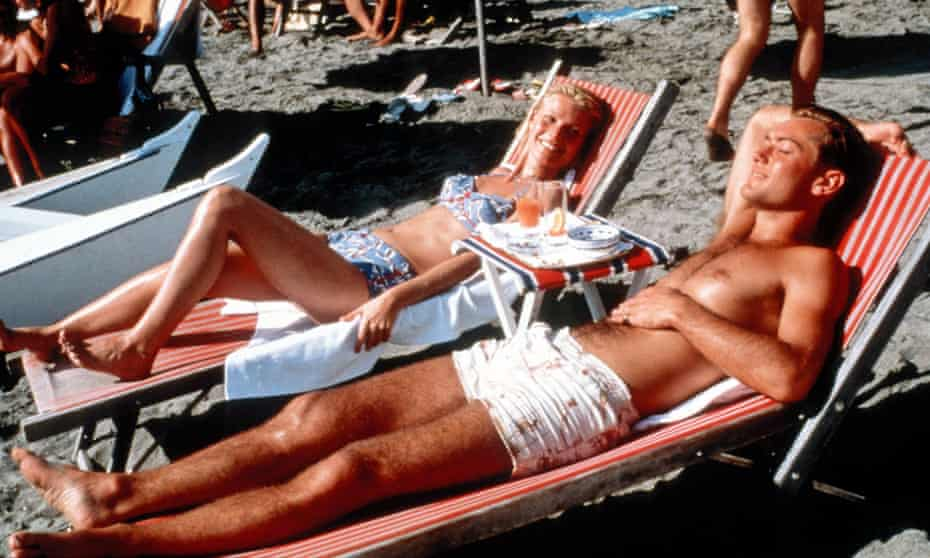 Gwyneth Paltrow and Jude Law in The Talented Mr Ripley.