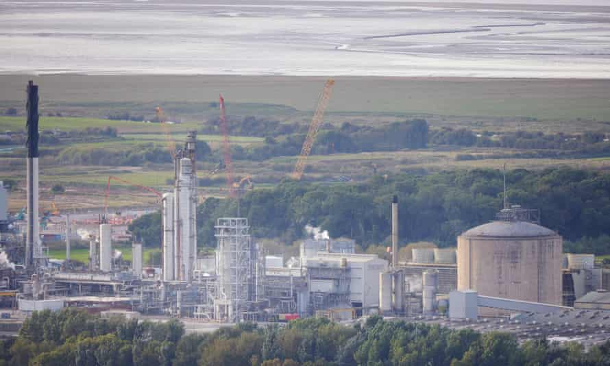 The American-owned CF Fertilisers plant in Cheshire.