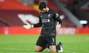 Alisson was back in the Liverpool team against Sheffield United.