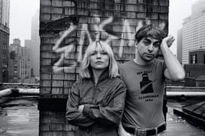 Debbie Harry and Chris Stein in New York, 1980