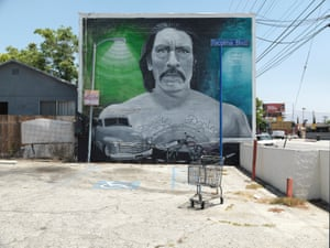Danny, mural by Levi Ponce, Pacoima, 2013. As featured at the Skirball Cultural Center