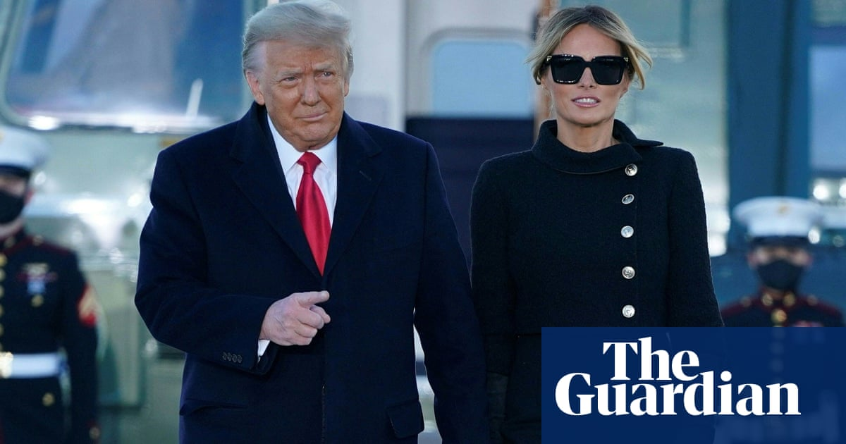 Donald and Melania Trump quietly got Covid vaccines last month, reports say | Donald Trump thumbnail