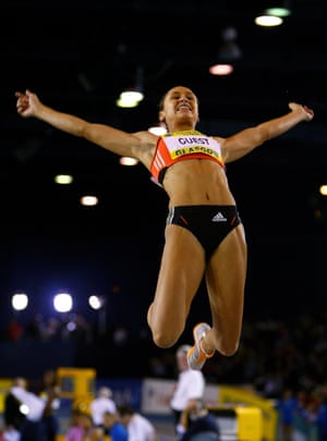 2008 The year started well with indoor personal lbests in the 60m hurdles and long jump at the Norwich Union International Match at Kelvin Hall, Glasgow