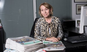 Sarah Sands, editor of the Standard