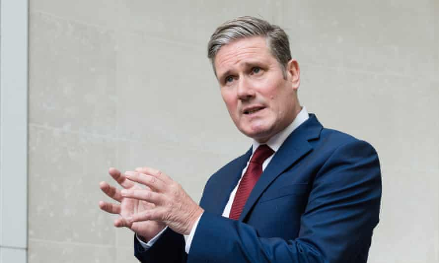Keir Starmer has faced calls from the Labour left to be more vocal on BAME issues after he criticised Black Lives Matter protesters.