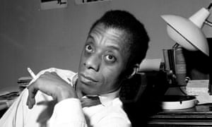 James Baldwin as seen in the film I Am Not Your Negro.