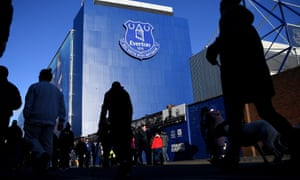 Everton hope to move from Goodison Park to a new stadium on the Liverpool waterfront.