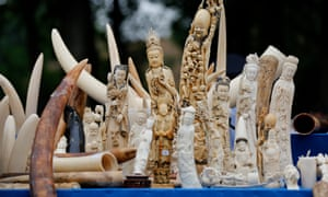 Experts say the UK supplies antique ivory to China, which has one of the largest illegal ivory markets.