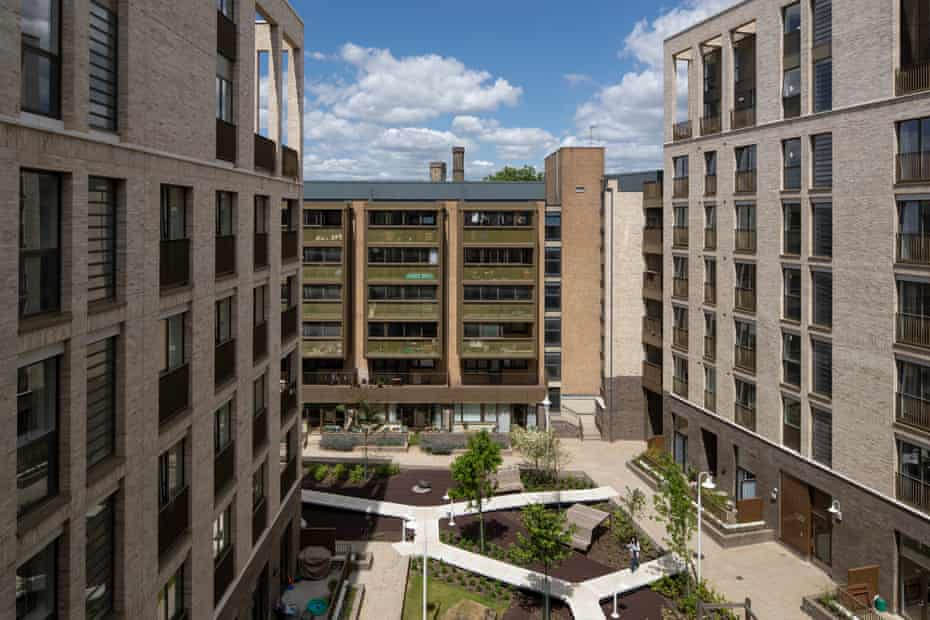 'It's the shared spaces between buildings that make the difference': the King's Crescent estate in Stoke Newington, north London.