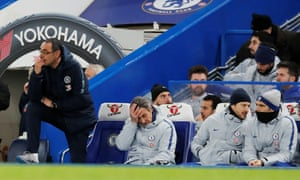 A Sarri state of affairs, earlier.