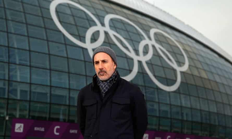 NBC's Matt Lauer in Sochi.