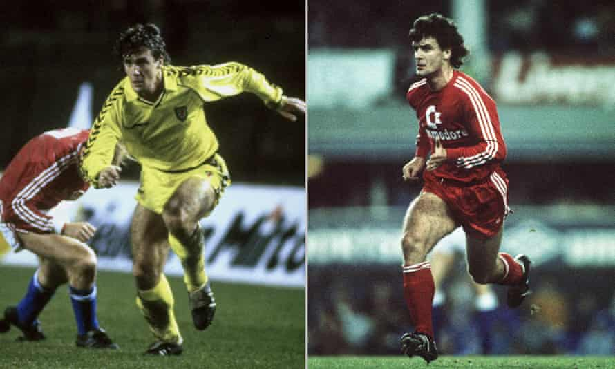 Mark Hughes played for Wales and Bayern Munich on the same day in 1987.
